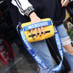 New Women Nylon Hip-hop Character Phone Bag Shoulder Bag