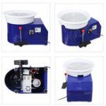 New 220V 250W Electric Pottery Wheel Ceramic Machine 300mm Ceramic Clay Potter Kit