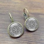 New Retro Datura Ear Drop Earrings