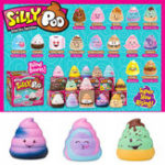 New 5PCS Silly Poo Squishy Blind Box 7*6.5*6.5CM Licensed Slow Rising With Packaging