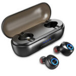 New [True Wireless] Bluetooth 5.0 Deep Bass Hi-Fi TWS Earbuds Earphone With Mic for Xiaomi Huawei