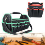 New 10 inch/16 inch Tool Storage Bag Hardware Screwdriver Spanner Pouch Pocket 600D