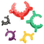 New 10Pcs Lab Plastic Clamp Clip Keck for Taper Glass Ground Joint 10/12/14/19/24/29/34/40/45#