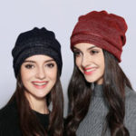 New Men Women Vintage Winter Thicken Knit Beanie Hat Skull Cap