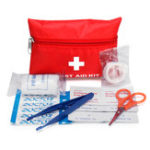 New 8Pcs Portable First Aid kit Car Emergency Travel Bag