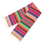 New 5pcs Mexican Blanket Table Flag Picnic Mat Travel Blanket Outdoor Beach Towel Car Blanket