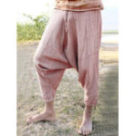 New Plus Size Casual Elastic Waist Women Baggy Pants