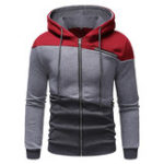 New Mens Fashion Hooded Cotton Casual Sweatshirt