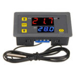 New W3230 DC 12V / AC110V-220V 20A LED Digital Temperature Controller Thermostat Thermometer Temperature Control Switch Sensor Meter
