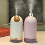 New Mini Rabbit Bear Air Humidifier Purifier Diffuser USB Charging Mist Maker