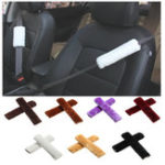 New Velour Car Seat Belt Should Pad Winter Guard Cover Protector Seat Belt Cushion Universal