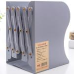 New Creative Retractable Metal Books Holder Telescopic Books Stand Flexible Bookshelf