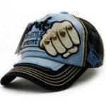 New Men Women Fist Letter Embroidery Baseball Hat