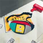 New Men And Women Patchwork Chest Bag Hip-Hop Waist Bag