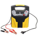 New 12/24V Universal Motorcycle Car Smart Repair Power Bank Automatic Battery Charger LCD Display