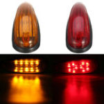 New 6 Inches 10 LED Car Tail Light Side Marker Lamp for Truck Tailer
