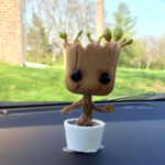 New Official Guardians of the Galaxy Groot Rocket Action Dancing Figure Collectible Model Toy Gift