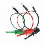 New 3 Pcs 20cm Transistor Tester Test Hook Test Clip