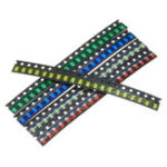New 1000Pcs 5 Colors 200 Each 1206 LED Diode Assortment SMD LED Diode Kit Green/RED/White/Blue/Yellow