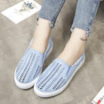 New Large Size Hollow Out Slip On Casual Flats Loafers