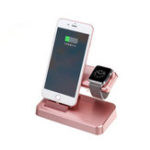 New 3 In 1 Charging Station Charger Phone Holder Stand For iPhone/Apple Watch Series