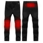 New Electric Heated Warm Pants Men Women Heating Base Layer Elastic Trousers USB