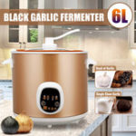 New 6L 70W Automatic Intelligent Black Garlic Fermenter Household DIY Zymolysis Pot Maker 220V Fermenting Machine