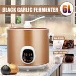 New 6L 70W Automatic Intelligent Black Garlic Fermenter Household DIY Zymolysis Pot Maker 220V Fermenting Machine