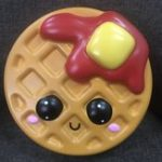 New Giant Jumbo Squishy Waffle Cake 24CM Cookies Slow Rising Soft Scented Toy
