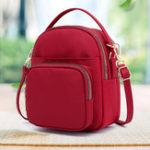 New Women Nylon Casual 6 Inches Phone Bag Shoulder Bag