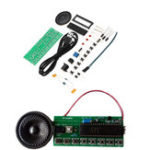 New 5pcs DIY Electronic Piano Making Kit Single Chip Microcomputer Music Box Module Kit