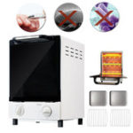 New 10L 900W Double Deck Nail Tools Heat Sterilizer Autoclave Spa Dental Medical High Temperature Sterilizer 220V