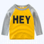 New Boys Children Printed Long Sleeve T-Shirts For 3Y-12Y