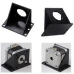 New 42mm L Shape Plastic Mounting Bracket For NEMA17 Stepper Motor 3D Printer Part