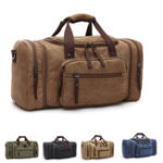 New Men Women Canvas Luggage Duffle Bag Gym Handbag Outdoor Sports Travel Fitness Tote Bags