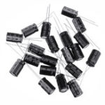 New 20Pcs High Frequency Low Impedance 25V 1000uF 10*13MM Aluminum Electrolytic Capacitor 1000uf 25v 25V1000uf