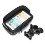 New 4.7inch Waterproof Mobile Phone Holder Motorcycle Bicycle Mount Case Bag Pouch