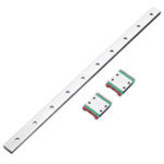 New Machifit 300mm MGW7 Linear Guide With 2pcs MGW7C Linear Rail Block CNC Tool