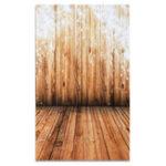 New 3x5FT Vinyl Wood Wall Floor Snowflake Photography Backdrop Background Studio Prop