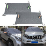 New 238x128cm Car Windshield Cover With Reflective Strip Sun Snow Ice Rain Dust Frost Guard Protector