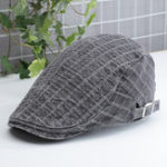 New Mens Unisex England Style Painter Beret Hat Newsboy Hat