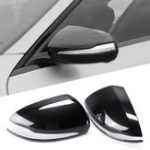 New Car Rearview Mirror Cover Caps Carbon Fiber for Mercedes-Benz W205 GLC 2015-18 Left-hand Driving