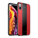 New Bakeey Protective Case For iPhone X/XR/XS/XS Max Leather Texture Anti Fingerprint PU Leather TPU Bumper Back Cover