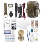 New Emergency Survival SOS Kit EDC Tools Gadget Set Camping First Aid Emergency Collection