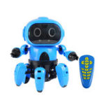 New Upgraded MoFun-963 DIY 6-Legged RC Robot Infrared Obstacle Avoidance Gesture Control Programmable With Transmitter
