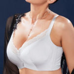 New Push Up B-J Cup Breathable Thin Underwire Bra