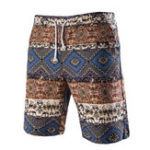 New INCERUN Mens Beach Summer Sports Board Hawaiian Shorts