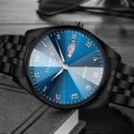 New TINACE Men Luminous Display Day Week Display Quartz Watch