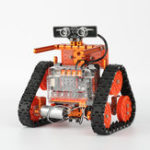 New WeeeMake DIY 6 In 1 WeeeBot Evolution Smart RC Robot Car Kit Programmable APP Control Educational Kit