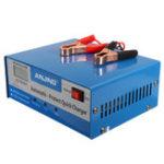New AJ-618E 12V/24V 150V-250V 200AH Lead Acid Battery Charger PWM Car Smart Repair Battery Charger